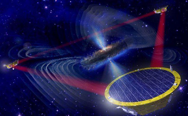 Проект LISA по измерению гравитационных волн в космосе