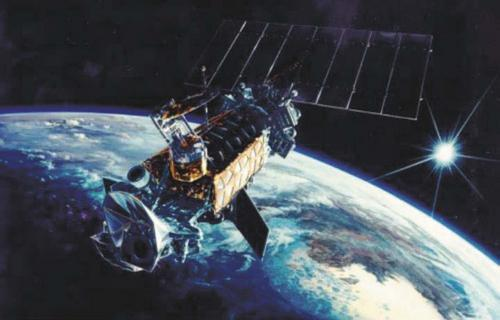 Военный спутник Defense Meteorological Satellite Program Flight 13 (DMSP F13)