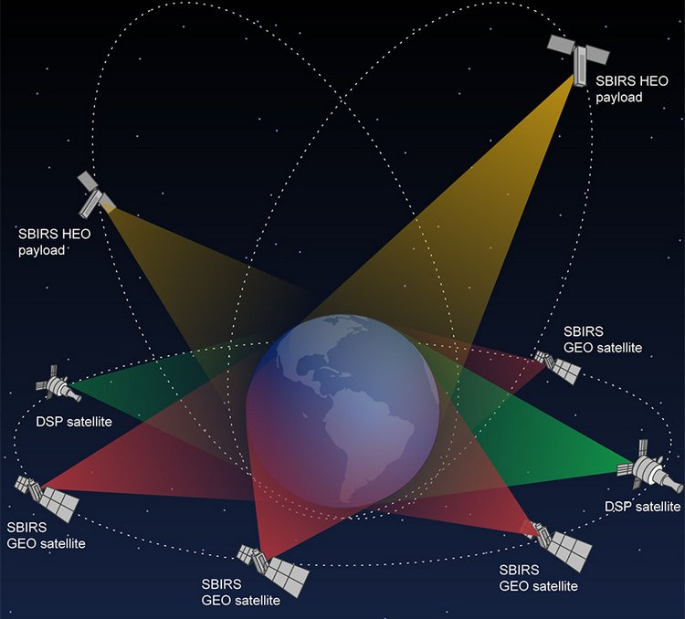 Подробно о системе Space-Based Infrared System (SBIRS)