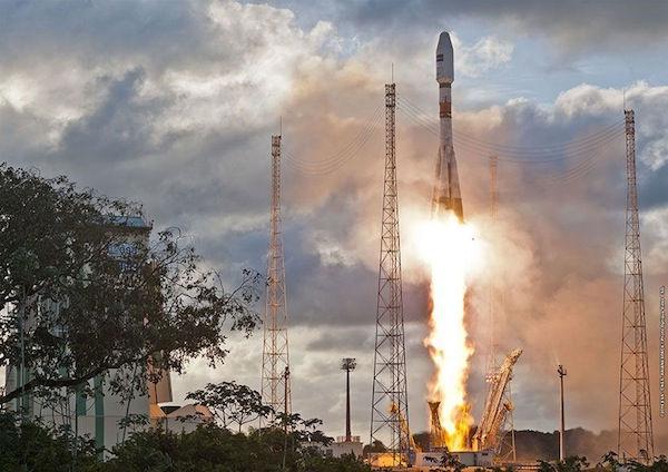 18 мая 2017 c космодрома Куру стартовала РН Союз-СТА с КА связи SES-15