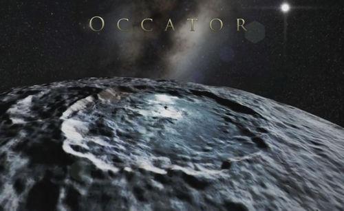 марс кратеры фото