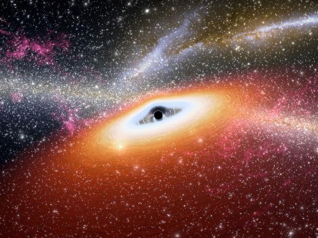 черная дыра фото с телескопа