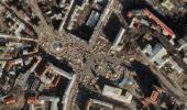 Космические снимки Евромайдана из космоса