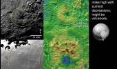 Красивые ледяные горы и вулканы на Плутоне. Новое фото