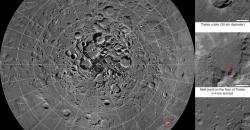 Карта Луны онлайн (Google Moon). Подробная карта Луны (горы, кратеры и знаменитые моря)